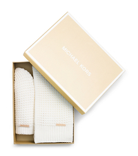 Beanie and Scarf Box Set - CREAM - 536636