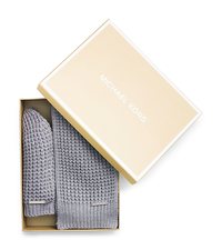 Beanie and Scarf Box Set - PEARL GREY - 536636