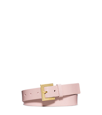 Logo-Buckle Belt - BALLET - 554539