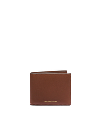Jet Set Pebbled-Leather Wallet - LUGGAGE - 39S5SMNF5T