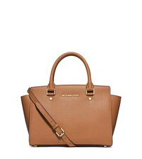 Jet Set Travel Medium Saffiano Leather Tote - LUGGAGE - 30S3GTVT6L