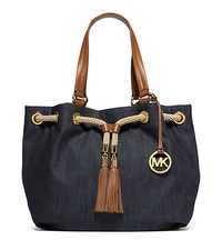 Marina Large Denim Tote - ONE COLOR - 30S5GMAT3C