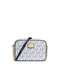 Jet Set Large Crossbody - NAVY/WHITE - 32S4GJSC7B