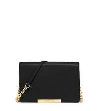 Lana Leather Wristlet - BLACK - 32S5GKYW2L
