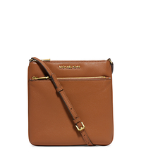Riley Small Pebbled-Leather Crossbody - LUGGAGE - 32S5GRLC1L