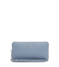 Jet Set Travel Phone Wristlet for iPhone and Samsung - PALE BLUE - 32T4STVE3L