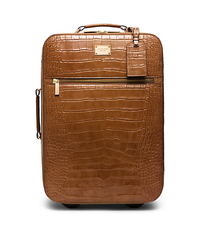 Jet Set Embossed-Leather Suitcase - ONE COLOR - 30S5GTTU4E