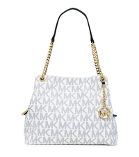 Jet Set Large Logo Tote - NAVY/WHITE - 30S5GTCE9B