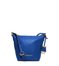 Bedford Small Leather Messenger - ELECTRIC BLUE - 30T5GBFM1L