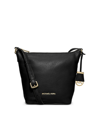 Bedford Medium Leather Messenger - BLACK - 30T5GBFM2L
