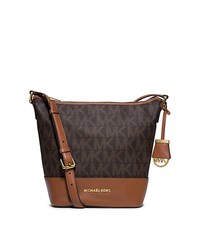Bedford Medium Logo Messenger - BROWN - 30T5GBFM6B