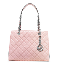 Susannah Medium Quilted-Leather Tote - ROSE WATER - 30T5SAHT2L