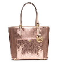 Jet Set Medium Monogram Tote - ROSE GOLD - 30T5MTTT6Z