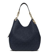 Fulton Large Logo Shoulder Tote - BALTIC BLUE - 30F5GFTE3V