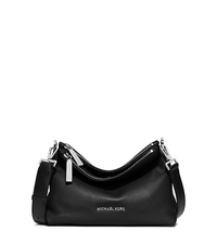 Jane Medium Leather Messenger - BLACK - 30F5SJBM2L