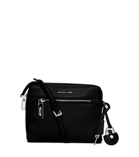Zoey Medium Leather Messenger - BLACK - 30F5SZOM2L