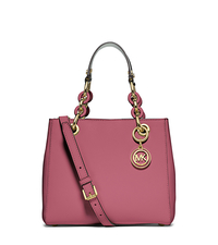 Cynthia Small Leather Satchel - TULIP - 30S5GCYS1L