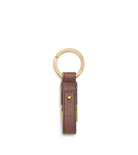 Saffiano Leather USB Keychain - DUSTY ROSE - 32F5GELK8L
