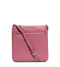Riley Small Pebbled-Leather Crossbody - TULIP - 32S5GRLC1L