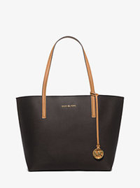 Hayley Large Tote - BROWN/PEANUT - 30H5GH3T7U