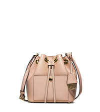 Greenwich Small Saffiano Leather Bucket Bag - BALLET - 30H5MGRM1M