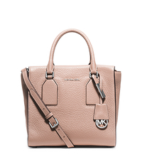 Selby Medium Leather Satchel - BALLET - 30H5SEYS2L