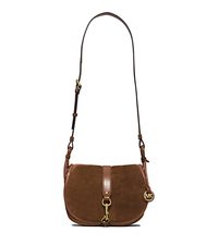 Jamie Large Suede Crossbody - CARAMEL - 30H5TJXS3S