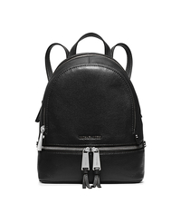 Rhea Extra-Small Studded Leather Backpack - BLACK - 30S5SEZB8L