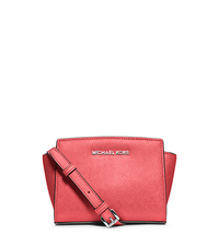 Selma Mini Saffiano Leather Crossbody - CORAL - 32H3SLMC1L
